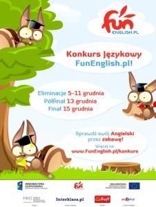 Pierwszy multimedialny konkurs językowy w Polsce